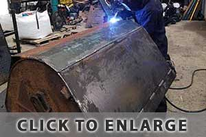 Photo of of us welding | Lissane Engineering | Co. Clare | Ph: (087) 671 8712